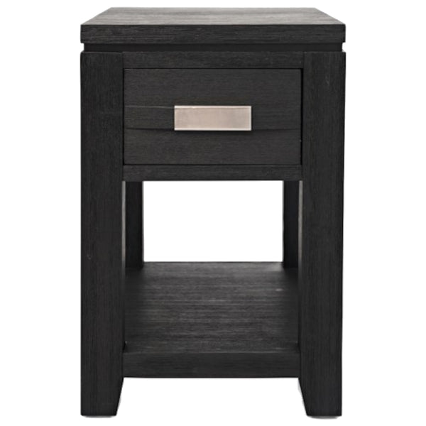 Altamonte Charcoal Chairside Table