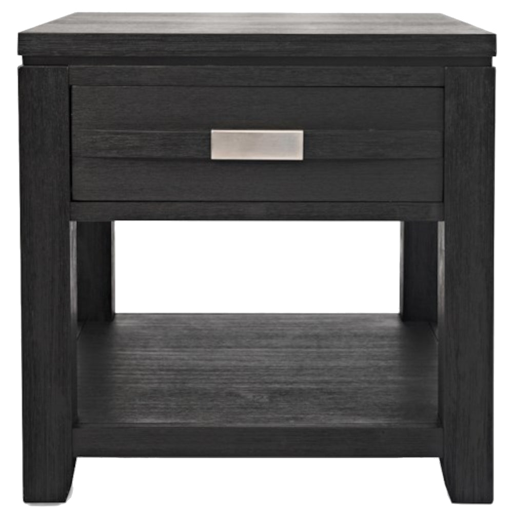 Altamonte Charcoal End Table