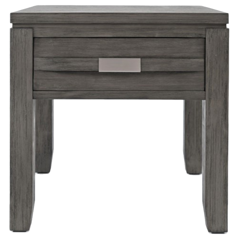 Altamonte Grey End Table