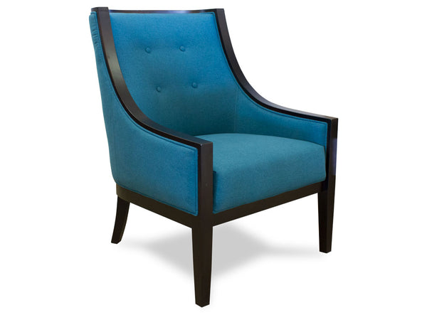 Cyrano Teal Chair