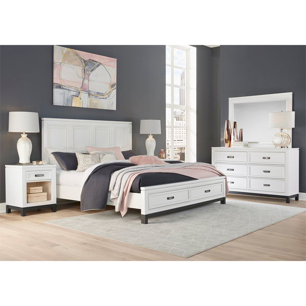 Hyde Park Nightstand White