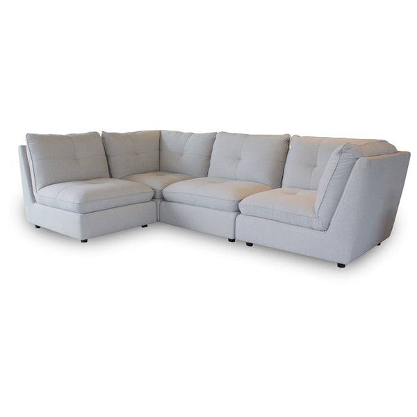 Keoni Silver Sectional