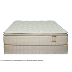 Baron Pillowtop Twin Size Mattress and Boxspring