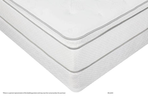 Messina Pillowtop Twin size Mattress and Boxspring