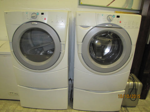 Whirlpool Front Load Washer and Dryer Set