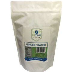 JEB FOODS Africa Ginger Root Powder Natural, Non, GMO and Gluten, Free 8 oz.