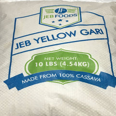 Yellow Garri, 10lbs bag West Africa super premium, fine quality, gluten free –