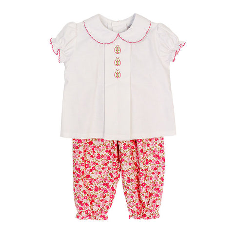 Ladybug Pants Set Bailey Boys
