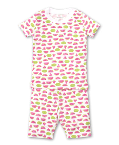 Whimsical Watermelons 2pc Months Short Pjs Kissy Kissy