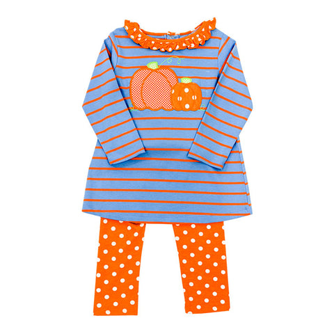 Pumpkin Tunic Set Bailey Boys