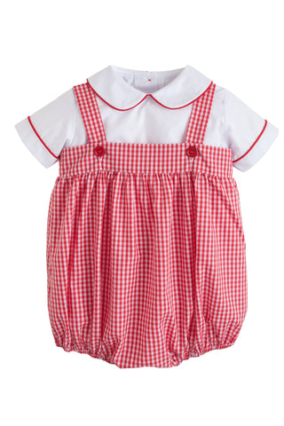 Saratoga Gingham Bubble Set Little English