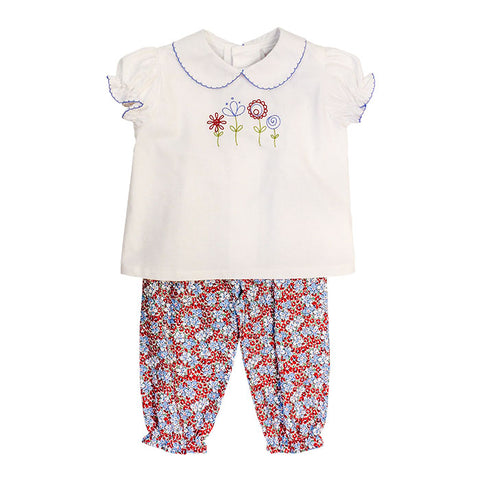 Peri Flowers Pants Set Bailey Boys