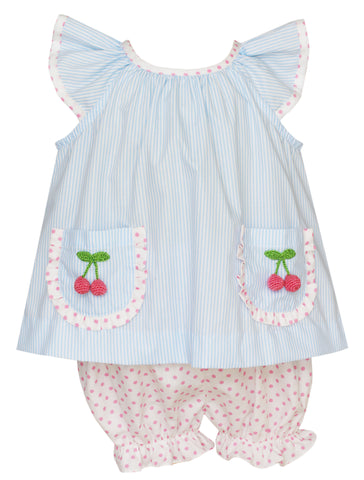 Cherries Bloomer Set Claire and Charlie
