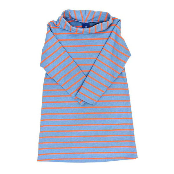 Blue/Orange Cowl Neck Dress Bailey Boys