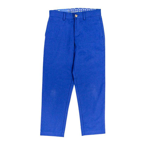 Marine Blue Twill Pants The Bailey Boys