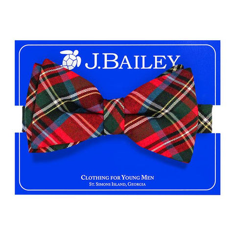 Wales Plaid Bow Tie The Bailey Boys