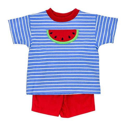 Watermelon Boy Shorts Set Bailey Boys