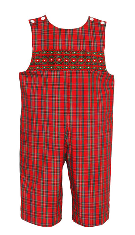 James Plaid Longall Petit Bebe
