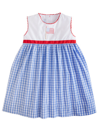 Flag Marisa Dress Little English