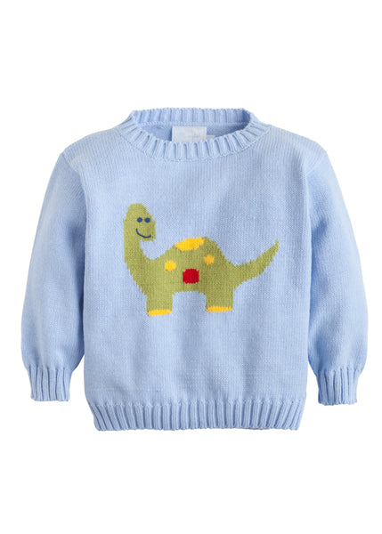 Dinosaur Intarsia Sweater Little English