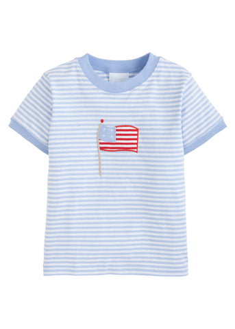 Flag Applique Tee Little English