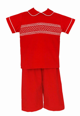 Michael Smocked Pants Set Claire & Charlie