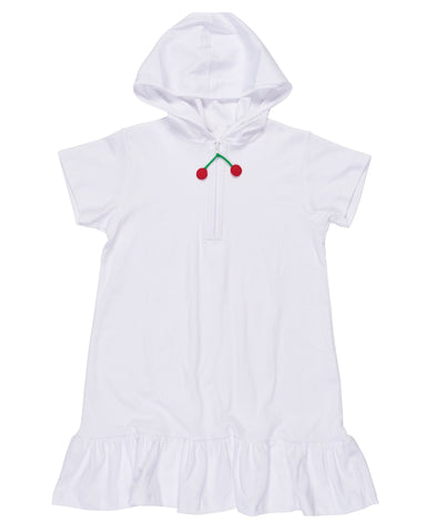 Cherry Hooded Coverup Florence Eiseman