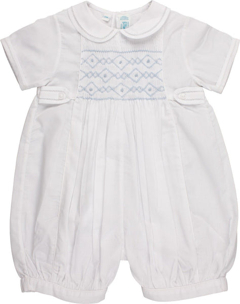Smocked Special Occasion Boy Bubble Feltman Brothers