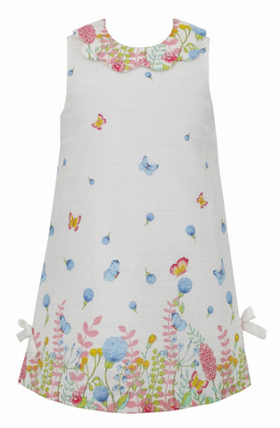 Garden Scallop Collar A-Line Dress Claire & Charlie