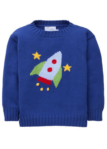 Rocket Intarsia Sweater Little English