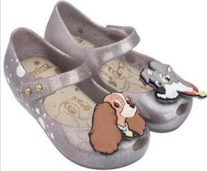 Lady & The Tramp Shoes by Mini Melissa