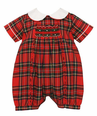 Holiday Plaid Bubble Anavini