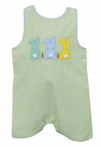 Cottontails Applique Shortall Claire & Charlie