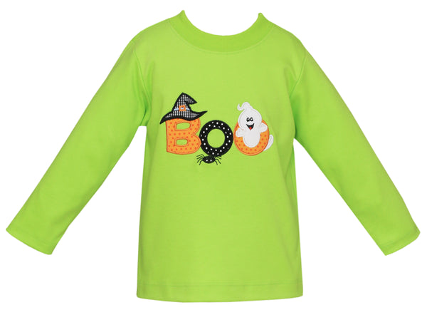Halloween Applique Tee Claire & Charlie