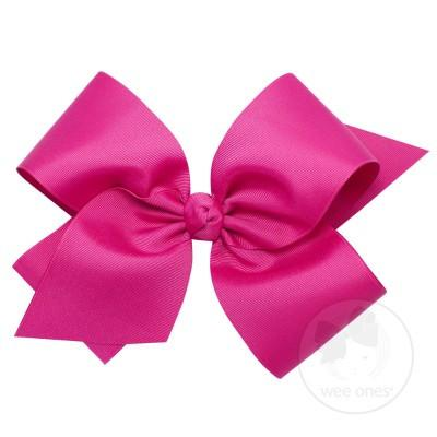 Colossal Bow w/Barrette Multiple ColorsWee Ones