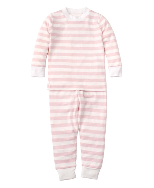 Pink Broad Stripes 2pc Pjs Months Kissy Kissy