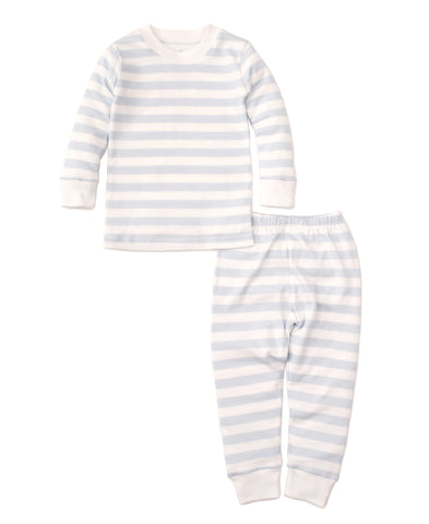 Blue Broad Stripes 2pc Pjs Toddler Kissy Kissy