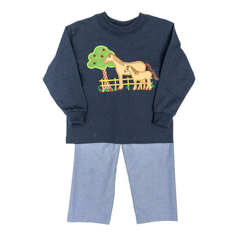 Horse Boys Pant Set Bailey Boys