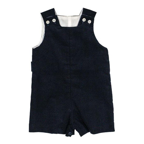 Navy Cord Shortall w/Tab The Bailey Boys