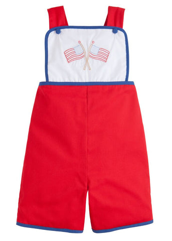 Flag Rory Romper Little English