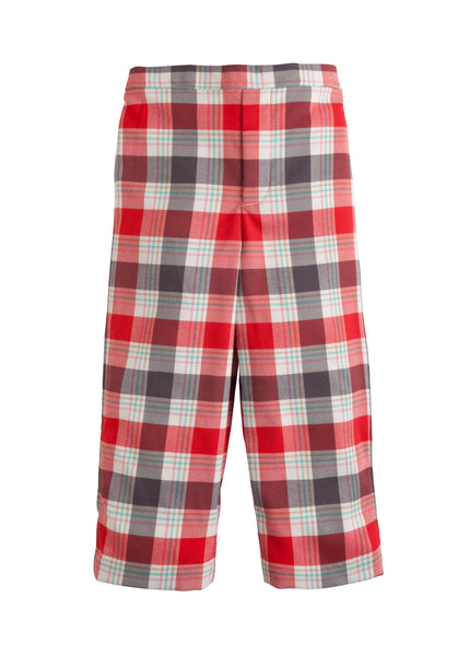 Homestead Plaid Pull on Pant