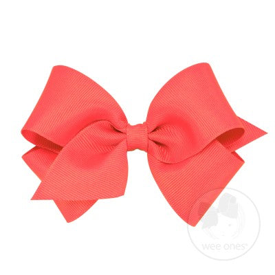 Medium Grosgrain w/Pinch Clip Wee Ones Hairbows