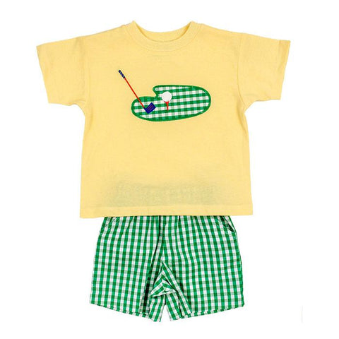 Tee Time Shorts Set The Bailey Boys