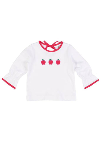 Apple Knit L/S Tee Florence Eiseman