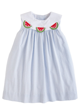 Watermelon Bib Dress Little English