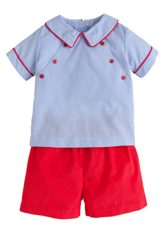Walker Short Set Little English