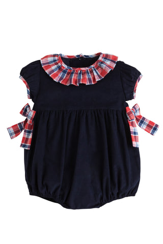 Bow-Bow Bubble Frierson Plaid Little English