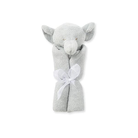Gray Elephant Blankie Angel Dear