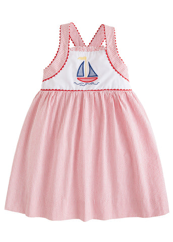 Sailboat Anna Dress Little English
