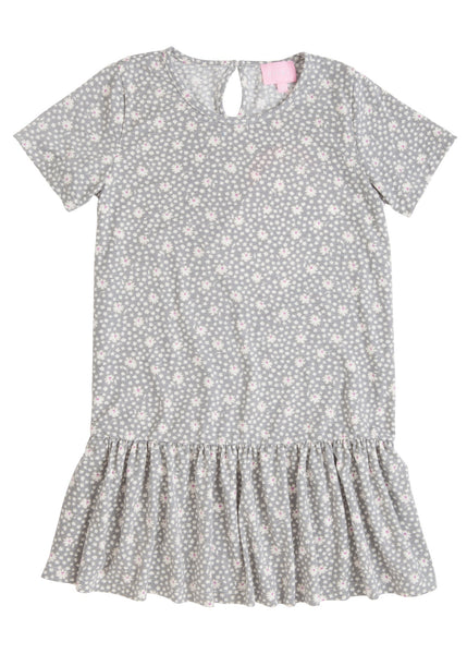 Isabel Dress Grey Daisy Bisby Kids